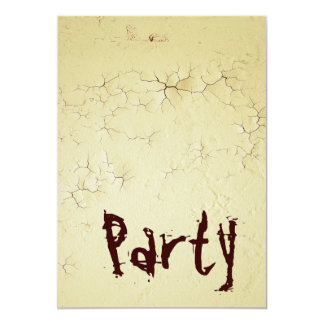 Grunge Party - Invitation