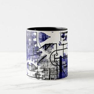 Grunge Patter 10 Mugs