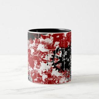 Grunge Patter 1 Coffee Mugs