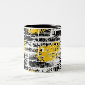 Grunge Patter 8 Coffee Mugs