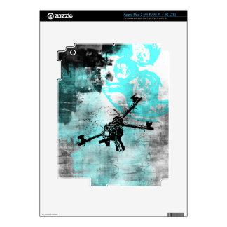 Grunge Pattern 104 iPad 3 Decal