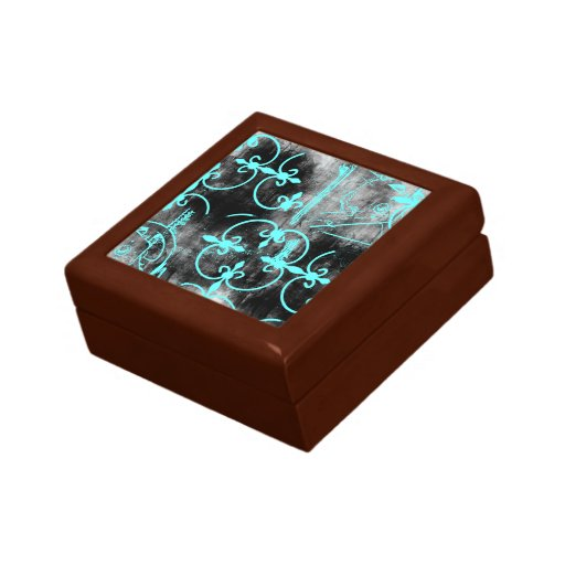 Grunge Pattern 105 Jewelry Boxes