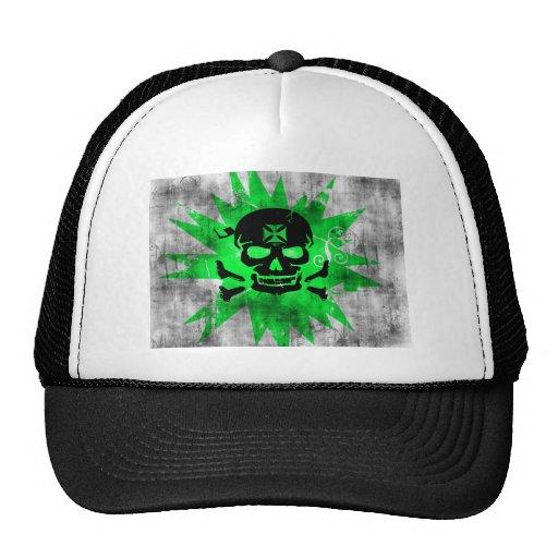 Grunge Pattern 130 Mesh Hat
