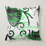 Grunge Pattern 131 Throw Pillow