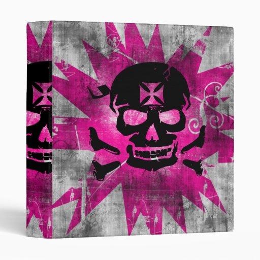 Grunge Pattern 133 Vinyl Binder
