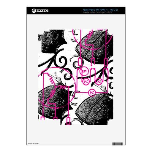 Grunge Pattern 134 iPad 3 Skin
