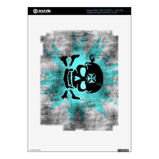 Grunge Pattern 136 iPad 3 Decals