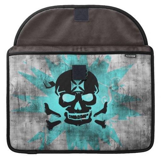 Grunge Pattern 136 Sleeve For MacBook Pro