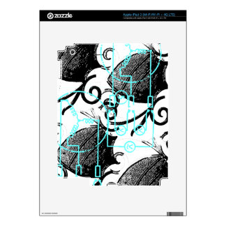 Grunge Pattern 137 Skins For iPad 3