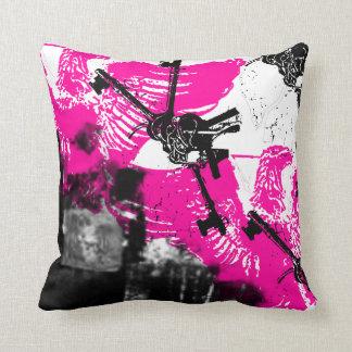Grunge Pattern 170 Pillows