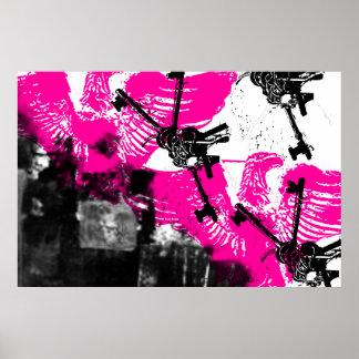 Grunge Pattern 170 Print