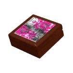 Grunge Pattern 171 Jewelry Box