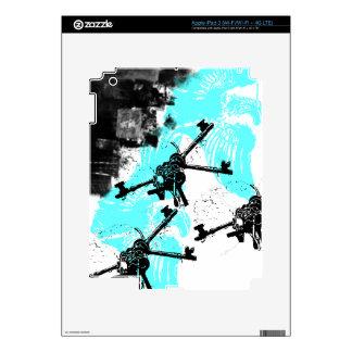 Grunge Pattern 173 iPad 3 Decal