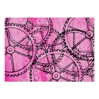 Grunge Pattern 218 Posters