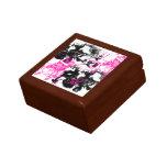 Grunge Pattern 219 Jewelry Boxes