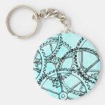 Grunge Pattern 221 Key Chain