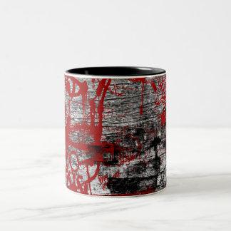 Grunge Pattern 223 Mugs