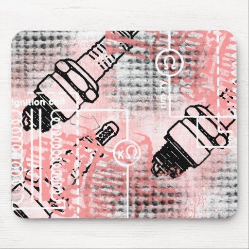 Grunge Pattern 26 Mouse Pads