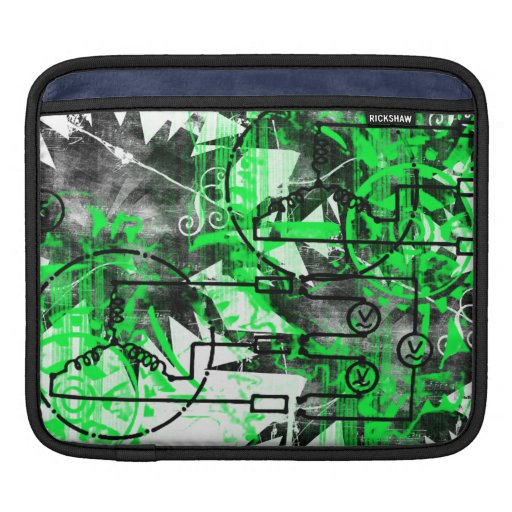 Grunge Pattern 32 Sleeves For iPads