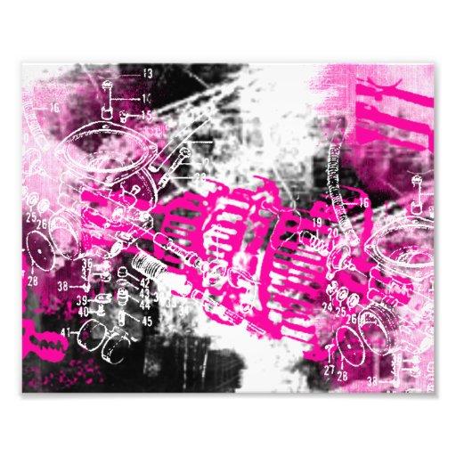 Grunge Pattern 34 Photo Print