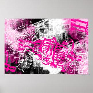 Grunge Pattern 34 Posters