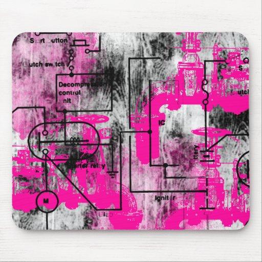 Grunge Pattern 35 Mousepad