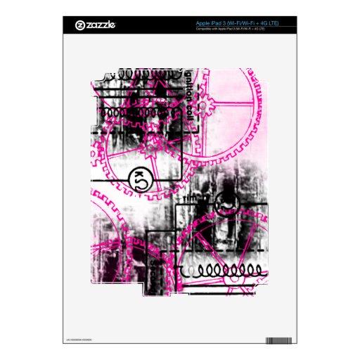 Grunge Pattern 36 iPad 3 Skin