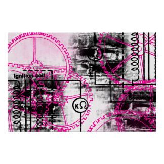 Grunge Pattern 36 Print