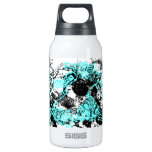 Grunge Pattern 37 10 Oz Insulated SIGG Thermos Water Bottle