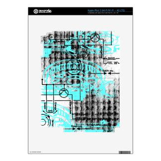 Grunge Pattern 38 iPad 3 Decals