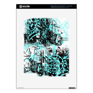 Grunge Pattern 39 iPad 3 Decal