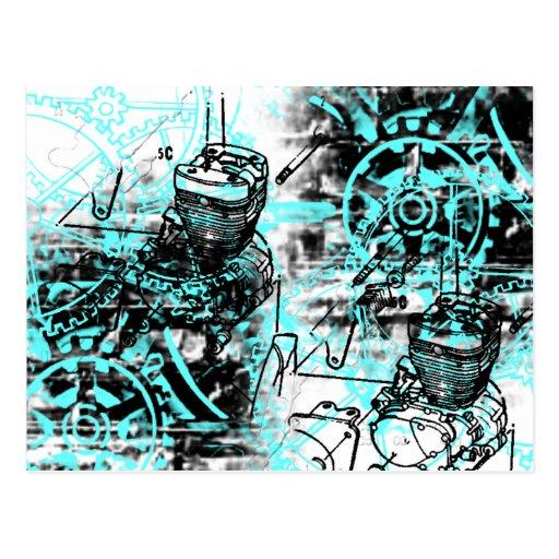 Grunge Pattern 39 Postcard