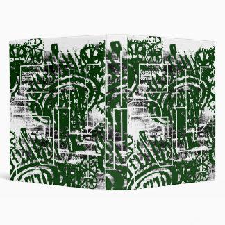Grunge Pattern 50 3 Ring Binder