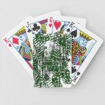 Grunge Pattern 50 Bicycle Playing Cards