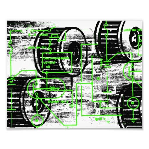 Grunge Pattern 65 Photo Print