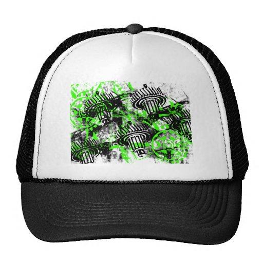 Grunge Pattern 66 Trucker Hat