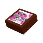 Grunge Pattern 68 Keepsake Boxes