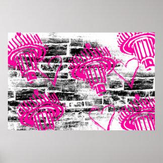 Grunge Pattern 68 Print