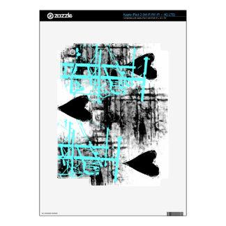 Grunge Pattern 70 Skin For iPad 3