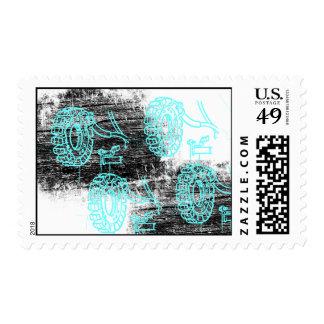 Grunge Pattern 72 Stamp