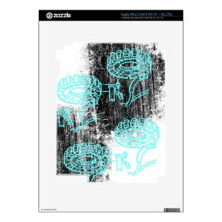 Grunge Pattern 72 Skins For iPad 3