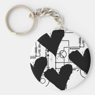 Grunge Pattern 75 Key Chains