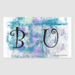 """Grunge pattern """"Be yoU"""" Stickers"""