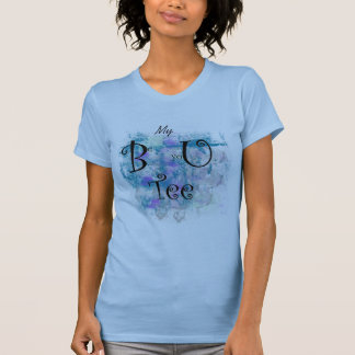 """Grunge pattern, """"My Be yoU Tee"""" BE YOU t-shirt"""