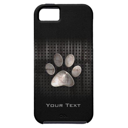 Grunge Paw Print iPhone SE/5/5s Case
