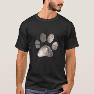 Grunge Paw Print T-Shirt