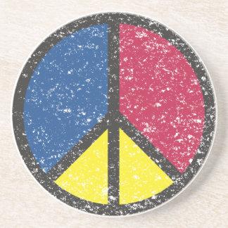 Grunge Peace - Coaster