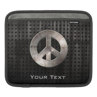 Grunge Peace Sign iPad Sleeve