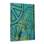 GRUNGE PEACES iPad Folio Case