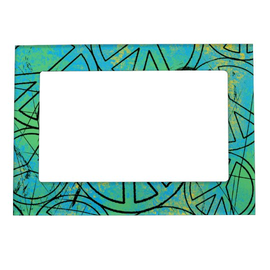 GRUNGE PEACES Magnetic Frame